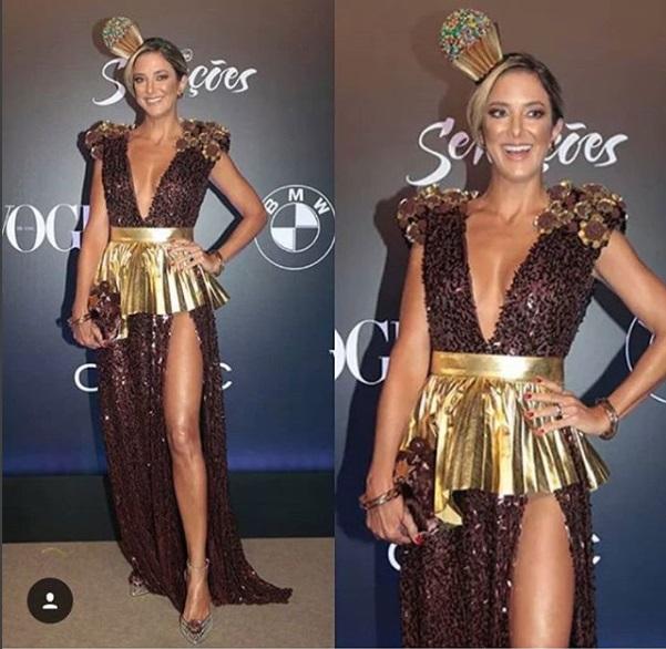 Baile da Vogue 2018 - Ticiane Pinheiro