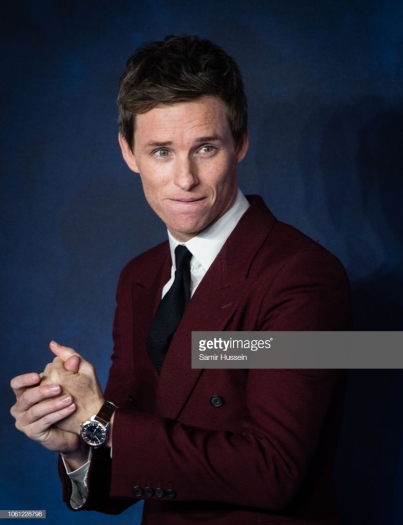 """LONDON, ENGLAND - NOVEMBER 13: Eddie Redmayne attends the UK Premiere of """"Fantastic Beasts: The Crimes Of Grindelwald"""" at Cineworld Leicester Square on November 13, 2018 in London, England. (Photo by Samir Hussein/WireImage)"""