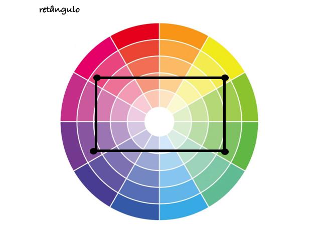 cores retângulo