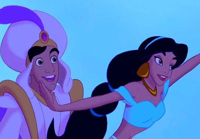 Jasmine e Aladdin
